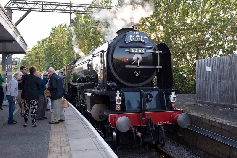 Walton Pier Express at Walton